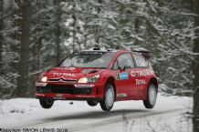 Citroen C4 WRC Sebastian Leob. Swedish Rally 2007 (d)
